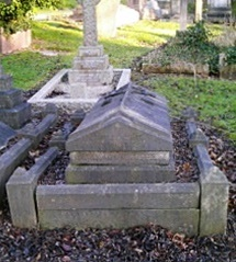 Rev Charles Cubitt's grave in Woodvale Cemetery, Brighton (photograph courtesy of JS, Find a Grave)