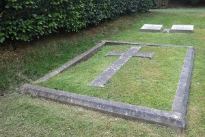 The Fuller-Maitland grave (ref F 5 and 6)