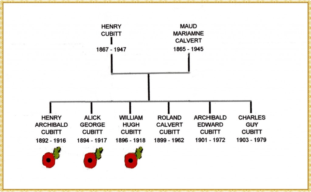 Henry Cubitt family tree243