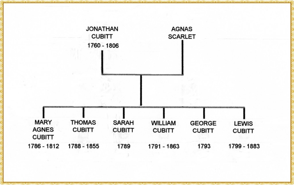 Jonathan Cubitt family tree244
