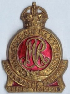 Surrey Yeomanry badge