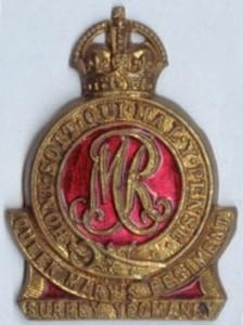 Surrey Yeomanry badge