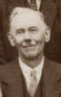 The older Allen Bakerin a group photograph in 1934, Ranmore Archive