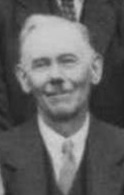 Allen Baker as an older man in the Harvest Home photograph of
