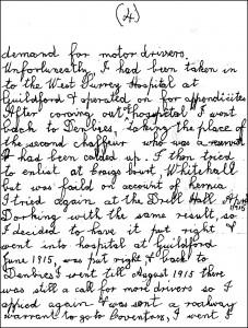 Ernest Baker letter p 4