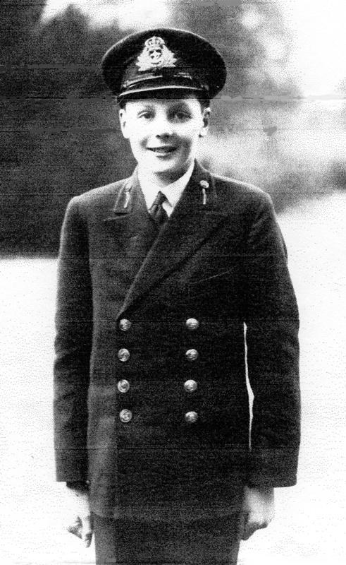 Cadet Hugh Cubitt 1942 (his own copyright)