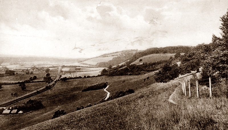 Picketts Hole around 1906