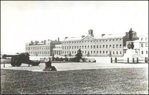 Royal Artillery Barracks, about 1900, check public domain