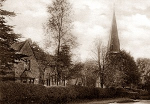 St Barnabas School close to the Church, 1932, Friths.....