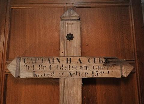 he second battlefield cross for Henry Archibald Cubitt,