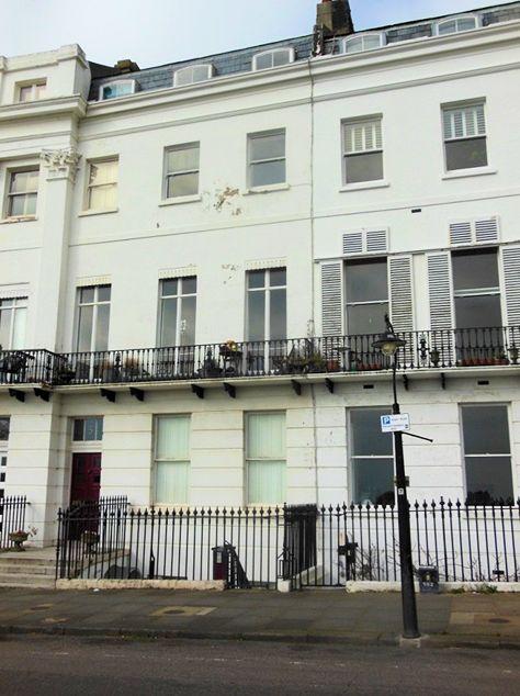 Lewis Cubitt's house, No 5 Lewes Crescent, Brighton (?Linda