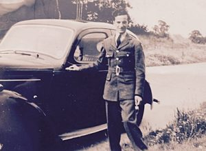 Ken Butcher and car cropped