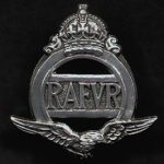 rafvr badge lapel c 1936