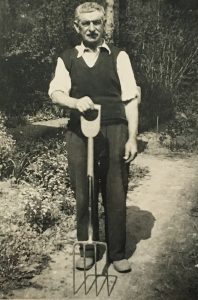 James Wickham in older age
